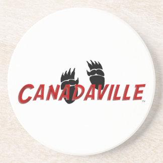 Canadaville spårar underlägg sandsten