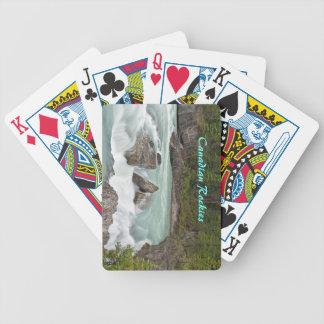 Canadian River som leker kort Spelkort