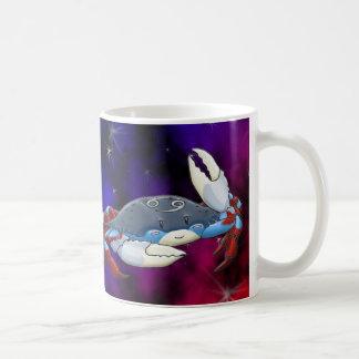 Cancer krabbamuggen kaffemugg