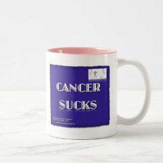 CANCER SUGER Två-Tonad MUGG