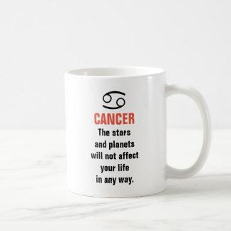 Cancerhoroskop - stjärnorna och planen ska inte vit mugg