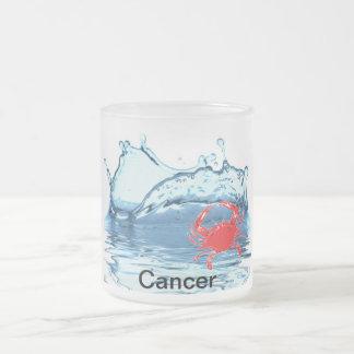 Cancerzodiac Frostad Glasmugg