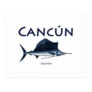 Cancun Sailfish Vykort