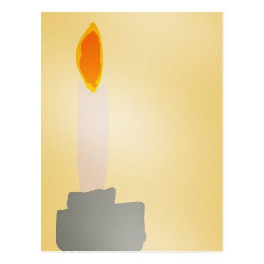 Candle Vykort