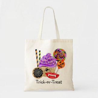 Candy corn för klubba för Halloween godisbus eller Tygkasse