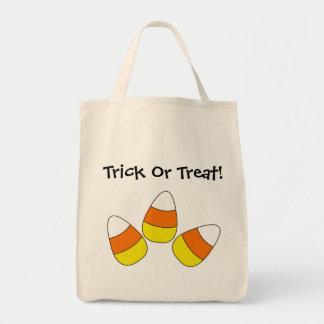 Candy cornbus eller godis hänger lös tygkasse