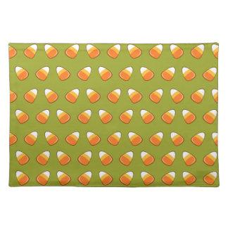 Candy cornmönster bordstablett
