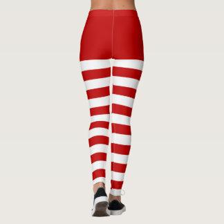 Candycane strumpbyxor leggings