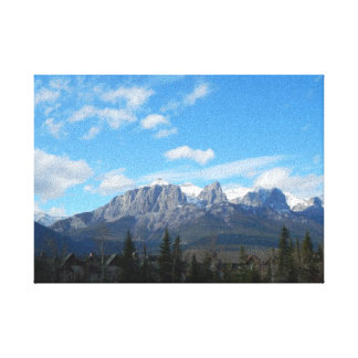 Canmore berg canvastryck