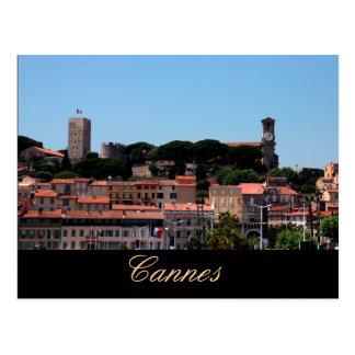 Cannes den gammala staden beskådar vykort