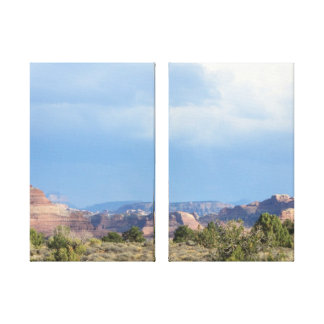 Canyonlands himmel sträckt kanvastryck