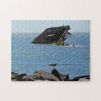 Cape May skeppsbrott Pussel