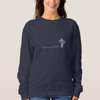 """CapellaJewels® """"kor min hjärta"""" kvinna tröja"""