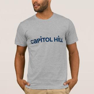 Capitol Hill-blått T-shirt