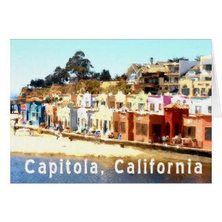 Capitola-Kalifornien Hälsningskort