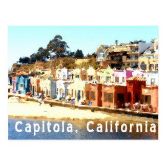 Capitola-Kalifornien Vykort