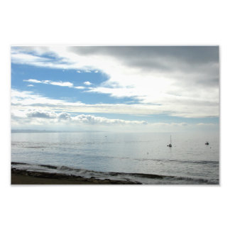 Capitola strand fototryck