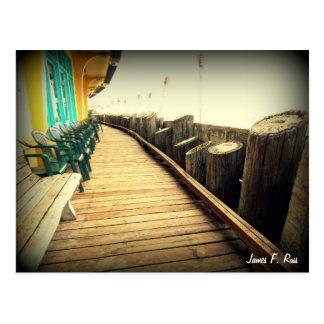 Capitola strand vykort