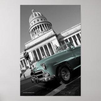 Capitolio coolablått poster