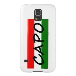 CAPO capoelakCHEF! i italienare och spanjor, Galaxy S5 Fodral