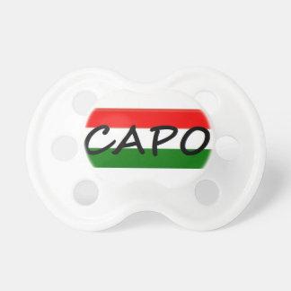 CAPO capoelakCHEF! i italienare och spanjor, Napp