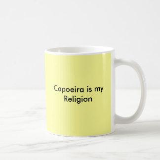 Capoeira är min religion kaffemugg
