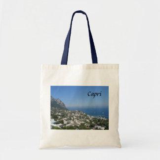 Capri italien budget tygkasse