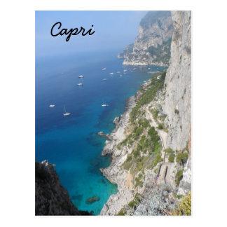 Capri italien vykort