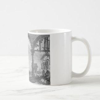Capriccio med en Portico vid Canaletto Kaffemugg