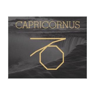 Capricornus Zodiac undertecknar | beställnings- Canvastryck