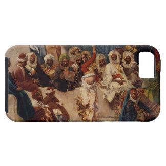 Captive åhörare, 1883 (olja på kanfas) tough iPhone 5 fodral