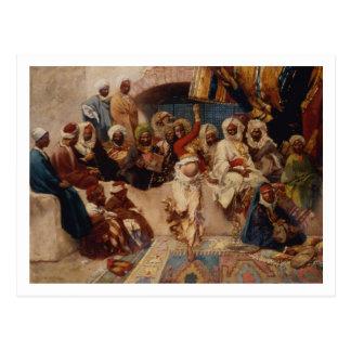 Captive åhörare, 1883 (olja på kanfas) vykort