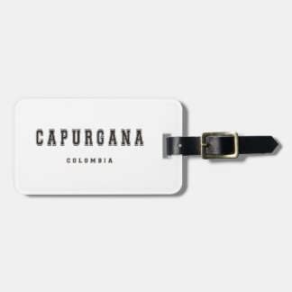 Capurgana Colombia Bagagebricka