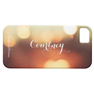 Caramel Bokeh Iphone iPhone 5 Case-Mate Skydd
