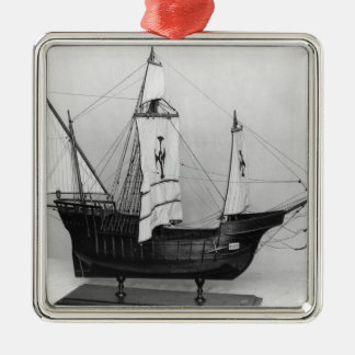 Caravel av Christopher Columbus Julgransprydnad Metall