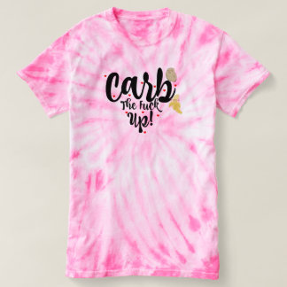 Carb upp! t-shirts