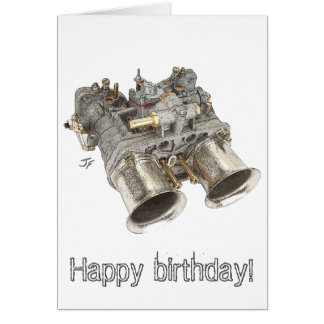 Carburetor Hälsningskort