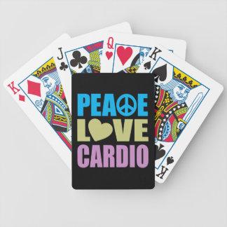 Cardio fredkärlek spelkort