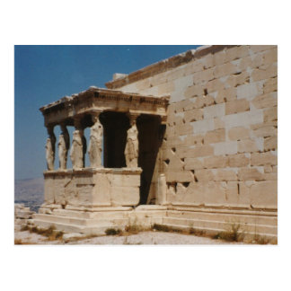 Cariatides - Athens Vykort