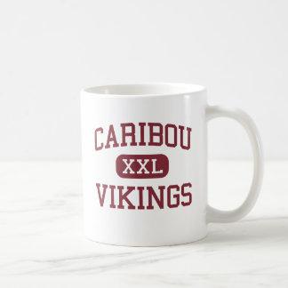 Caribou - Vikings - högstadium - Caribou Maine Kaffemugg
