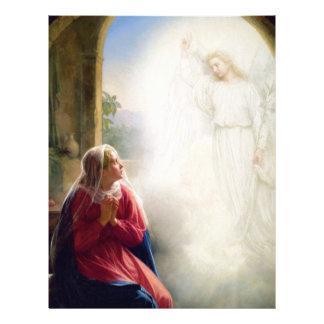 Carl Bloch Annunciation Brevhuvud