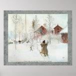 Carl Larsson - bekläda gården och tvättahuset