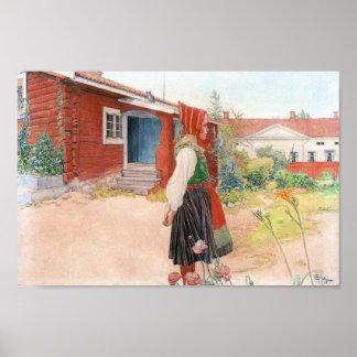 Carl Larsson det Falun hemmet Poster