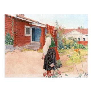 Carl Larsson det Falun hemmet Vykort