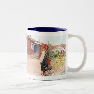 Carl Larsson - Falun den hem- skandinavet Kaffe Kopp