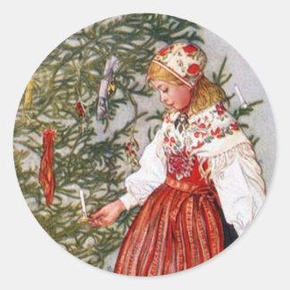 Svenska Jul Klistermärken