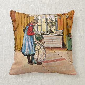 Carl Larsson konst: Kök Kudde