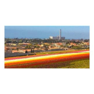 Carlsbad blommafält fotokort