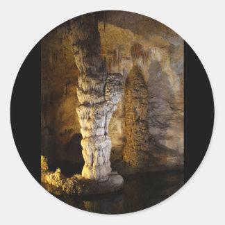 Carlsbad Caverns Runt Klistermärke