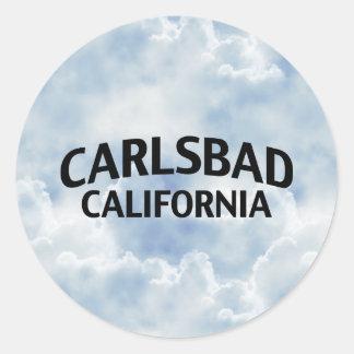 Carlsbad Kalifornien Runt Klistermärke